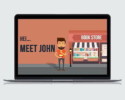 male merchant animated powerpoint template riverduo