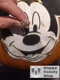 mickey mouse pumpkin happy family blog