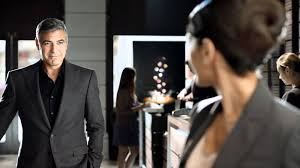 nespresso commercial actress jack black nespresso clooney and nazanin boniadi in the swap tv commercials