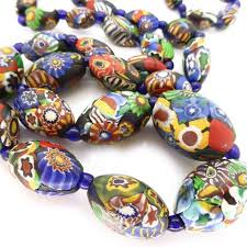 bead necklace ebay images The 486 best rare vintage glass beads images bead jpg