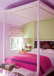 star of the show four ways to make your bed an insanely nice paisly headboard canopy bed made from branches pink girls room better decorating bible blog