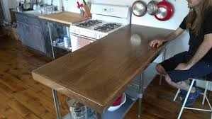 Oak Top Insert For A Stainless Steel Table Greene Projects
