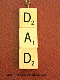 25 last minute father u0027s day crafts scrabble tiles scrabble and
