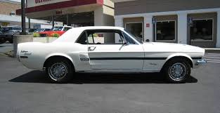 68 mustang california special wimbledon white 1968 ford mustang gt california special hardtop