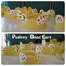 pudsey spotty cake make some dough for children in need show