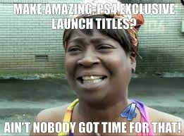 Playstation 4 Meme - playstation 4 review did sony stumble at the starting line