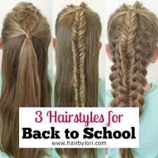 hairstyles for back to school for long hair 3 hairstyles for back to school hair by lori
