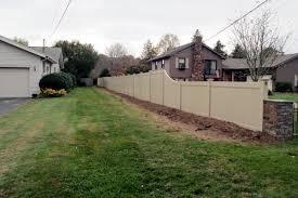vinyl fences pvc fences fence installation arrow fence inc ct