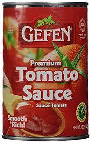 gefen kosher gefen tomato sauce smooth rich kosher for passover
