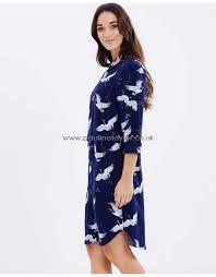 womens dresses 43 4 bird print shirt dress by warehouse