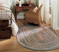 Qvc Area Rugs Nuloom Casual Handmade Braided Cotton Multi Round Rug 8 U0027 Round