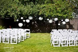 Small Backyard Wedding Ceremony Ideas Backyard Wedding Ceremony Ideas Marceladick