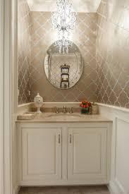 bathroom stencil ideas best 25 small bathroom wallpaper ideas on powder room