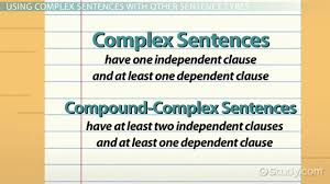 what is a complex sentence examples u0026 concept video u0026 lesson