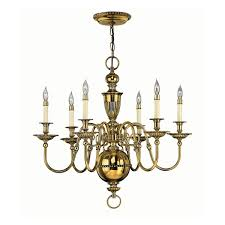 Brass Light Gallery by 4416bb Cambridge Burnished Brass Chandelier Light 6 Light