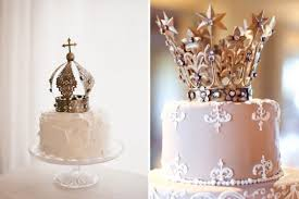 crown cake toppers the newest wedding trend crown cake toppers weddingomania