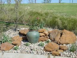 Rock Gardens Ideas Attractive River Rock Garden Design Ideas Livetomanage