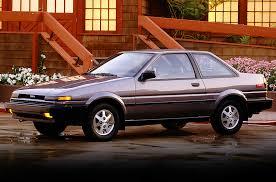toyota 86 corolla 1986 toyota corolla sr5 coupe cars today