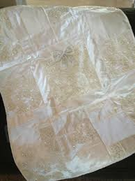 wedding dress quilt uk 68 best wedding gown to christening gown conversions images on