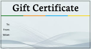 gift certificate template printable gift voucher free gift