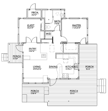 Standard Measurement Of House Plan by Modern Style House Plan 2 Beds 1 00 Baths 800 Sq Ft Plan 890 1