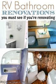 rv ideas renovations rv bathroom renovations rv obsession