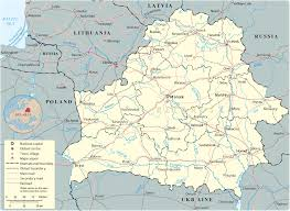 map of belarus map belarus travel europe