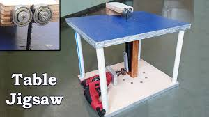 how to make a table jigsaw at home youtube