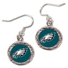 mardi gras earrings philadelphia eagles gameday eagles bead necklace mardi gras