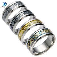 ring for men 4 colors vintage gold free shipping 316l stainless steel