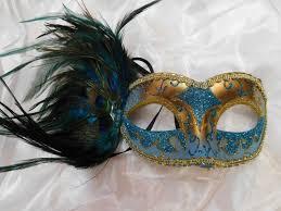peacock mardi gras mask venetian mask with peacock feather masquerade mardi gras mask