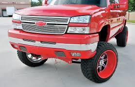 Red Lifted Chevy Silverado Truck - a hardworkin u0027 2004 chevy silverado 2500hd 6 6 dirty max