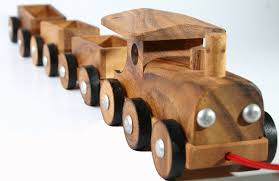 wooden toys wooden toy train wooden pull toys children by siamcollection