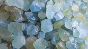 light blue semi precious stone repost it s march so let s celebrate the beauty and calming