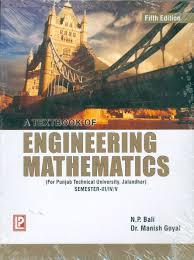 a textbook of engineering mathematics ptu jalandhar sem iii iv