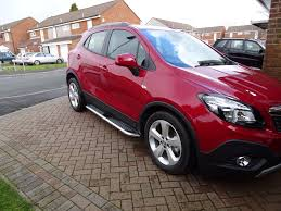 opel mokka vauxhall opel mokka premier side steps exterior replace upgrade