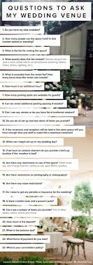 plan my wedding 23 questions to ask my wedding venue by allyson vinzant events