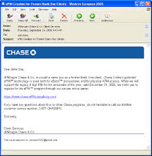 how to layout a email email stimulus 1b phishing phishing message with standard chase
