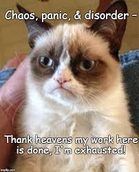 My Work Here Is Done Meme - grumpy cat takes over the un imgflip