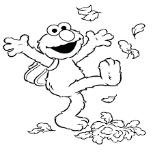 kindergarten fall coloring pages color pictures sheets