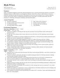Sample Warehouse Manager Resume Warehouse Manager Resume Templates P O Box On Resume