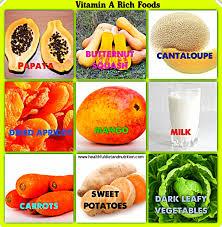 top 5 vitamin a rich foods