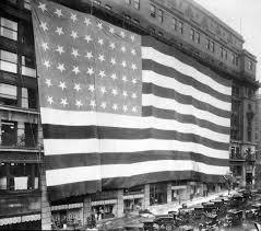 How To Dispose Of Old Flags In 1925 The World U0027s Largest Flag Hung From A Downtown Omaha