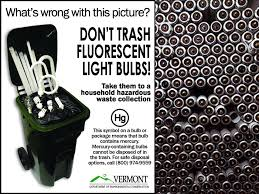 fluorescent l disposal cost vermont s l recycling outreach strategies mercury added bulbs