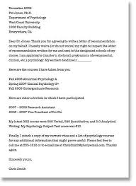 how to ask for a recommendation letter graduate sample