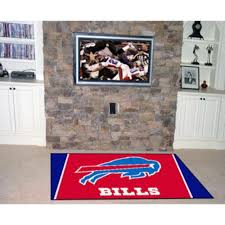 Area Rugs Kansas City by Amazon Com Buffalo Bills Rug 5 Ft X 8 Ft Sports Fan Area