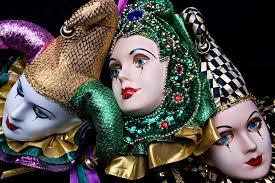 ceramic mardi gras masks for sale mardi gras masks stock photo image of luxury costume 3826540