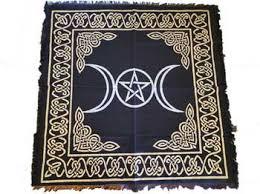 Pentacle Rug Sacred Elements Altar Cloths U0026 Linens