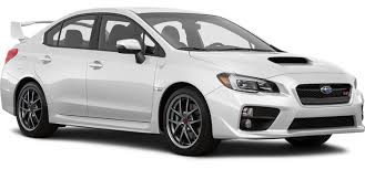 subaru white 2017 2017 subaru wrx low profile trunk spoiler wrx sti limited 4 door awd