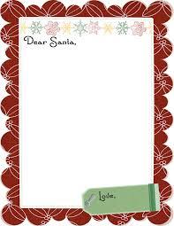 free christmas letter templates printable cheminee website free